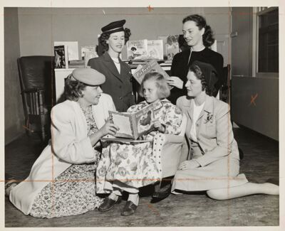Toy Carts Philanthropy Introduced, 1946 Image