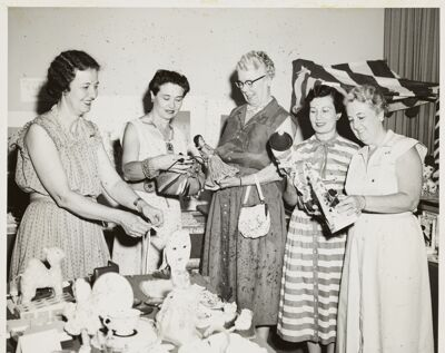 Carnation Shop Introduced, 1952 Image