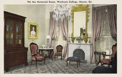 Restoration of the Philomathean Room, March 4, 1945 Image