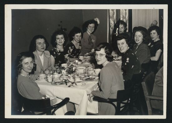 Alpha Delta Pi State Day Luncheon Photograph, March 19, 1949