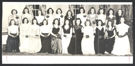 Gamma Theta Chapter Charter Members Photograph, March 22, 1947