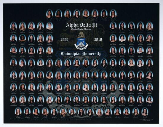 Theta Theta Chapter Composite Photograph, 2009-2010