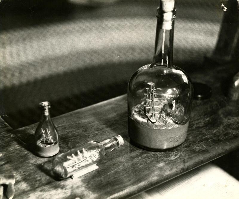 Ships in Bottles Photographs