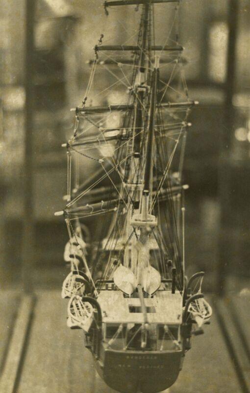 An Intricate Art: Restoring Ship Models Photographs