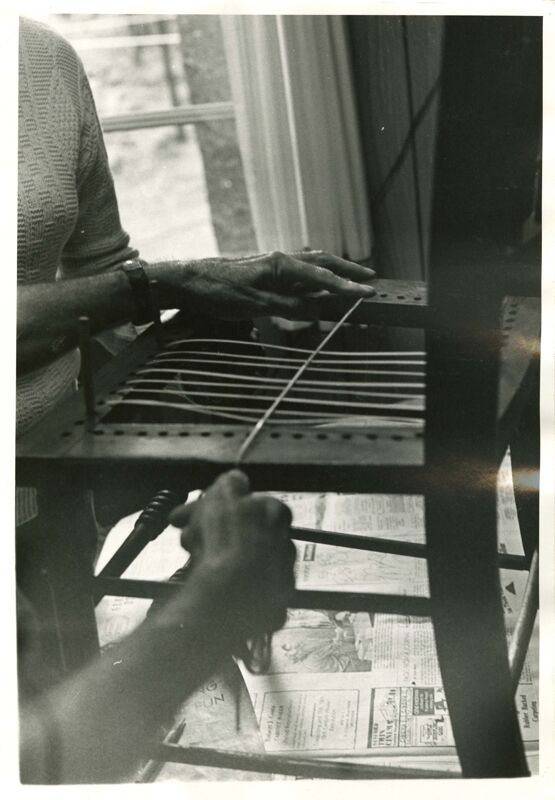 Chair Caning Photographs