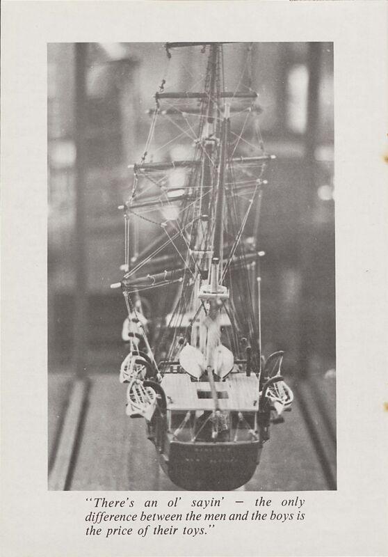 An Intricate Art: Restoring Ship Models