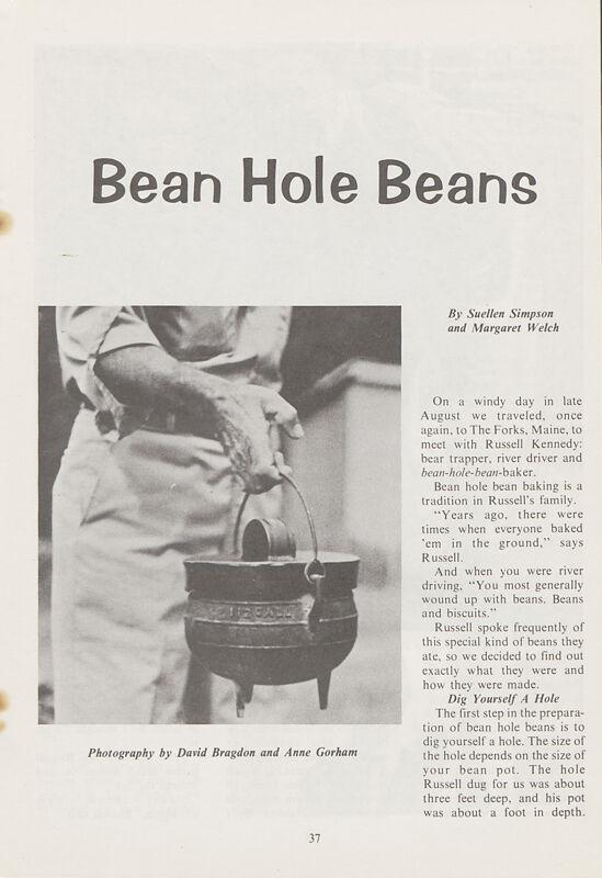Bean Hole Beans
