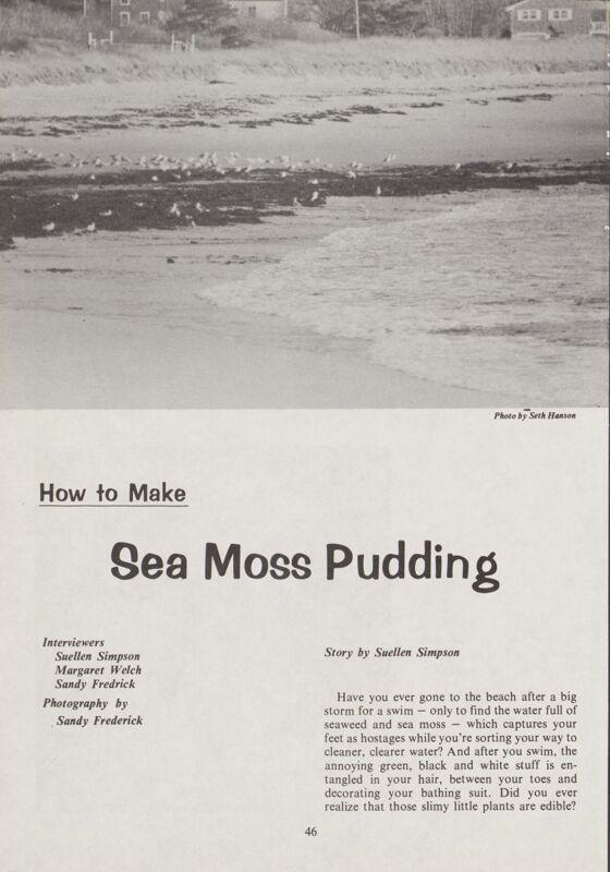 How to Make Sea Moss Pudding