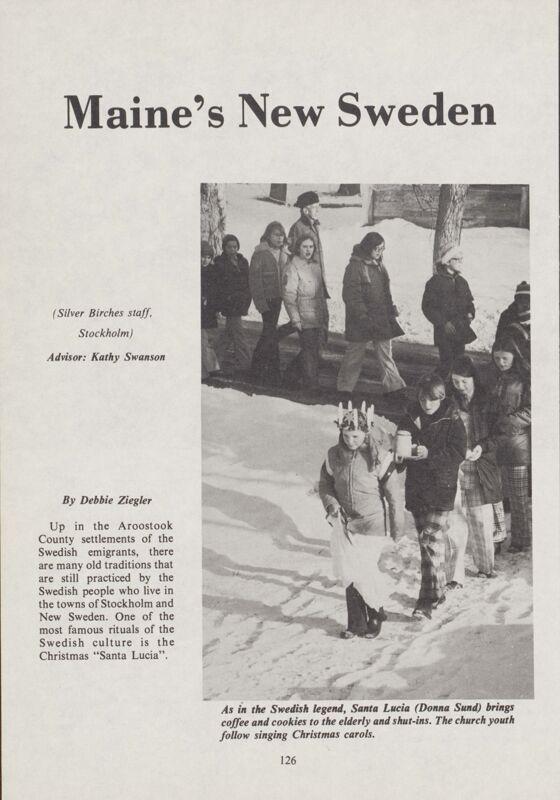 Maine's New Sweden