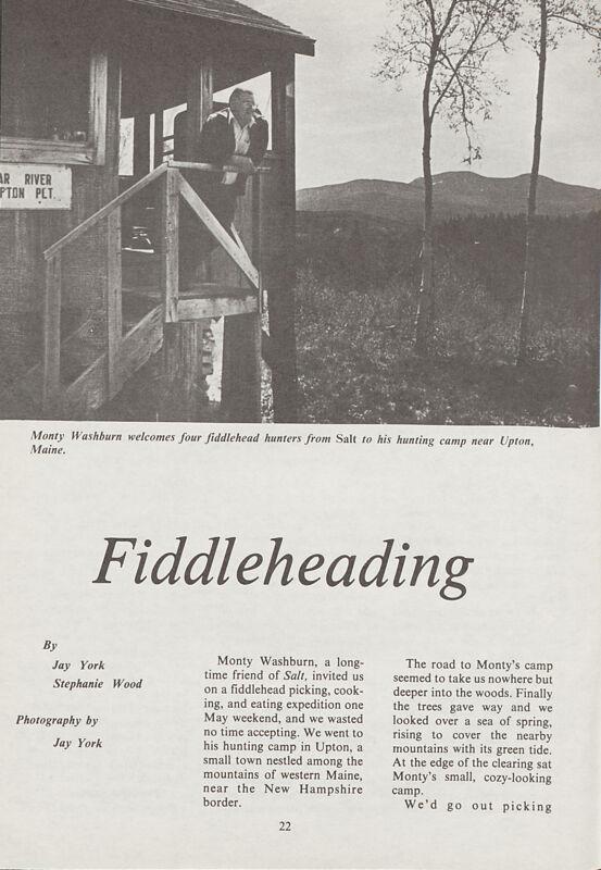 Fiddleheading