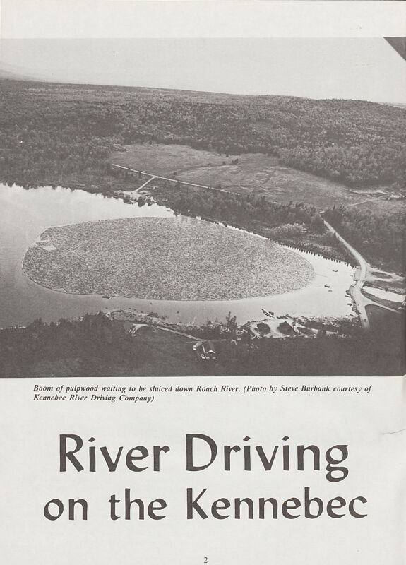 River Driving on the Kennebec