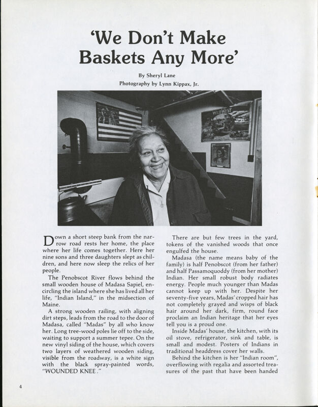 We Don't Make Baskets Any More