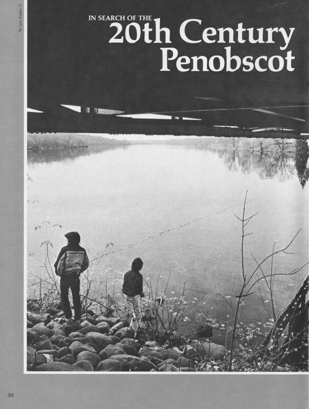 In Search of the 20th Century Penobscot