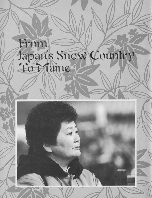 From Japan's Snow Country to Maine