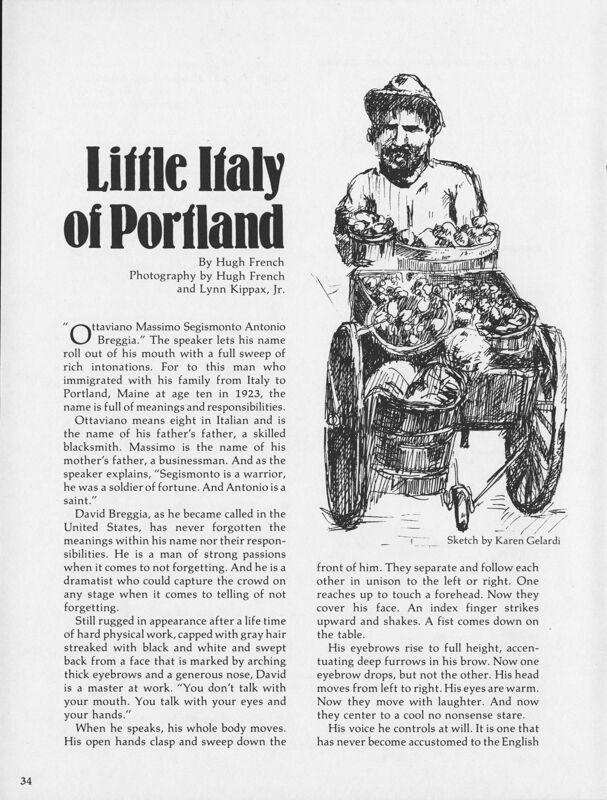 Little Italy in Portland