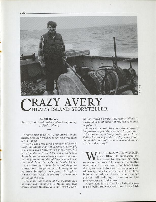 Crazy Avery