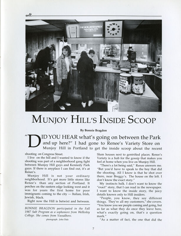 Munjoy Hill's Inside Scoop