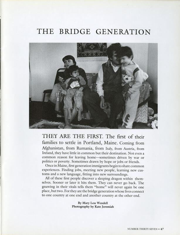 Bridge Generations