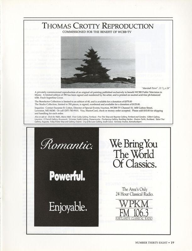 April 1990 Salt Magazine, Advertisements