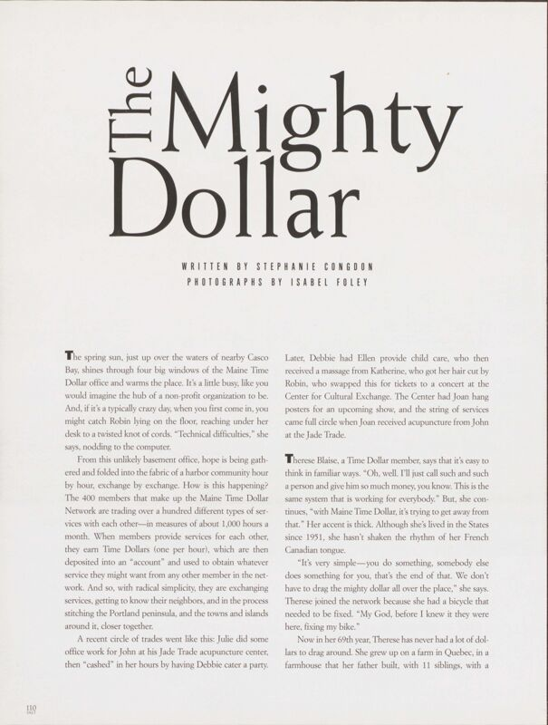 The Mighty Dollar