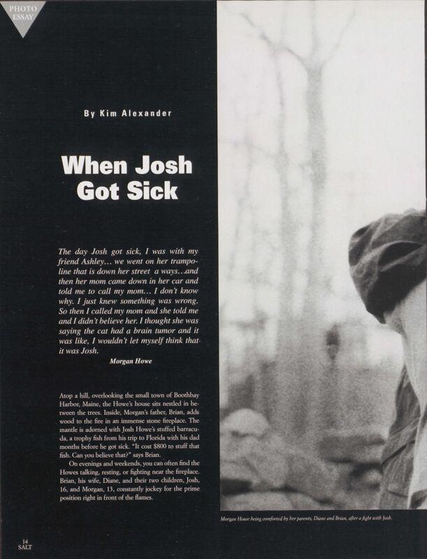 When Josh Got Sick
