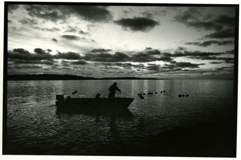 Sea Duck Hunting Photographs