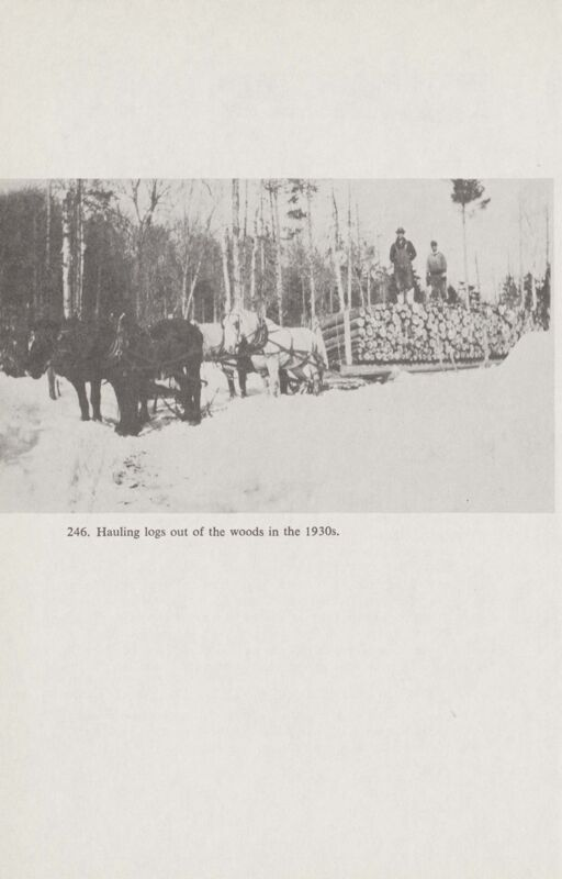 River Driving: Logging in the Winter