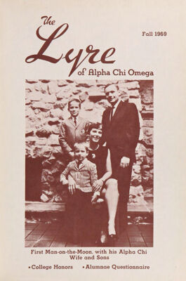 The Lyre of Alpha Chi Omega, Vol. 73, No. 1, Fall 1969