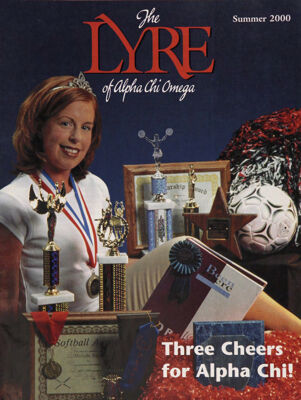 The Lyre of Alpha Chi Omega, Vol. 103, No. 4, Summer 2000