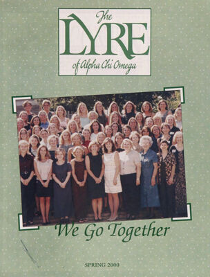 The Lyre of Alpha Chi Omega, Vol. 103, No. 3, Spring 2000