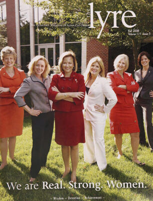 The Lyre of Alpha Chi Omega, Vol. 111, No. 5, Fall 2008
