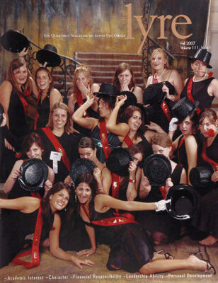 The Lyre of Alpha Chi Omega, Vol. 111, No., 1, Fall 2007
