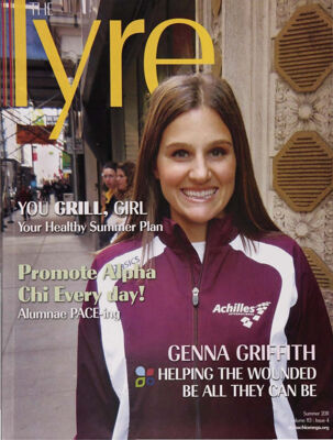 The Lyre of Alpha Chi Omega, Vol. 113, No. 4, Summer 2011