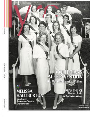 The Lyre of Alpha Chi Omega, Vol. 116, No. 2, Winter 2013