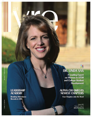 The Lyre of Alpha Chi Omega, Vol. 117, No. 3, Spring 2015