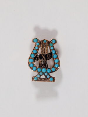 Katherine McReynolds Morrison Badge, 1887