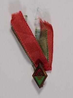 New Member Pin with Ribbon, 1900