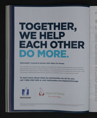 Together, We Help Each Other Do More, Fall 2015