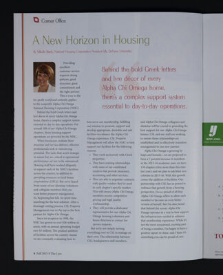 A New Horizon in Housing