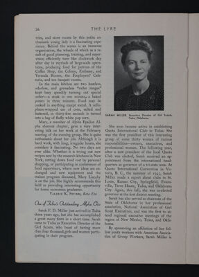 Interesting Alpha Chis: One of Tulsa's Outstanding Alpha Chis, November 1948