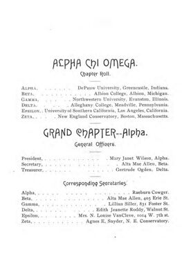 The Lyre of Alpha Chi Omega, Vol. 2, No. 2, June 1897