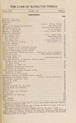 The Lyre of Alpha Chi Omega, Vol. 30, No. 1, October 1926