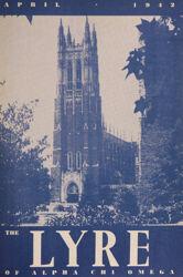 The Lyre of Alpha Chi Omega, Vol. 45, No. 3, April 1942
