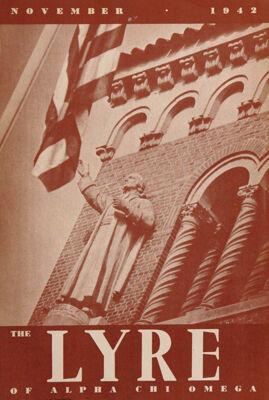 The Lyre of Alpha Chi Omega, Vol. 46, No. 1, November 1942