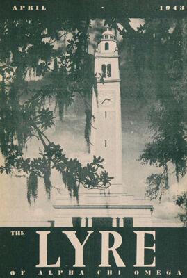 The Lyre of Alpha Chi Omega, Vol. 46, No. 3, April 1943