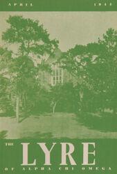 The Lyre of Alpha Chi Omega, Vol. 47, No. 3, April 1944