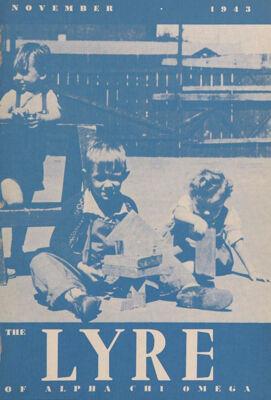 The Lyre of Alpha Chi Omega, Vol. 47, No. 1, November 1943