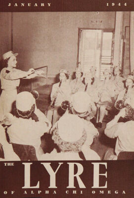 The Lyre of Alpha Chi Omega, Vol. 47, No. 2, January 1944