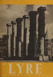 The Lyre of Alpha Chi Omega, Vol. 48, No. 4, June 1945