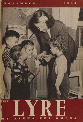 The Lyre of Alpha Chi Omega, Vol. 48, No. 1, November 1944